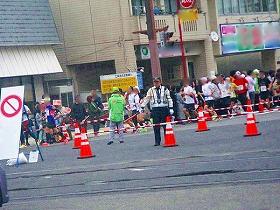 マラソン警備